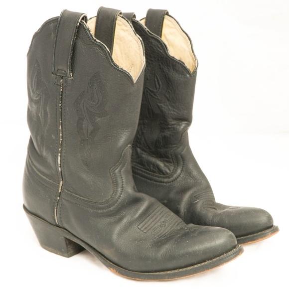 8f280359d6fe Durango Shoes - Durange RD630 Cowboy Boots Black Low Shaft Western